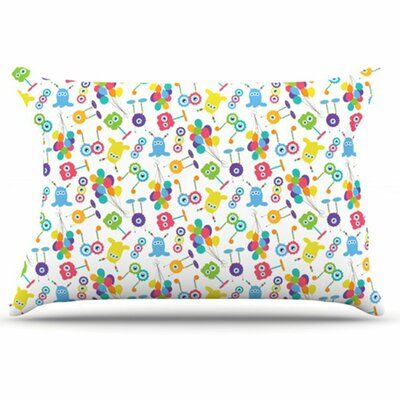 KESS InHouse Fun Creatures Pillowcase