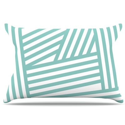 KESS InHouse Stripes Pillowcase