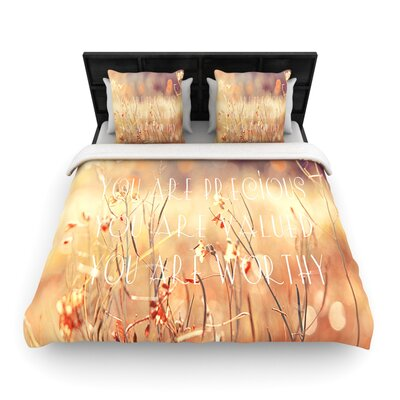 KESS InHouse You Are Precious Duvet Cover Collection