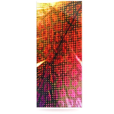 KESS InHouse Feather Pop Floating Art Panel