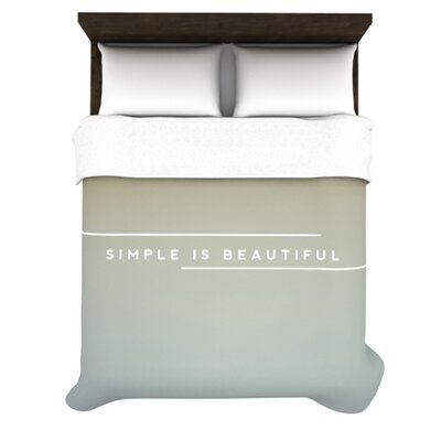 KESS InHouse Simple Beautiful Duvet