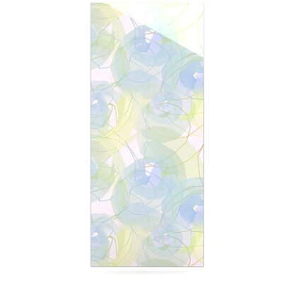 KESS InHouse Paper Flower Floating Art Panel