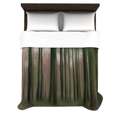 KESS InHouse Forest Blur Duvet