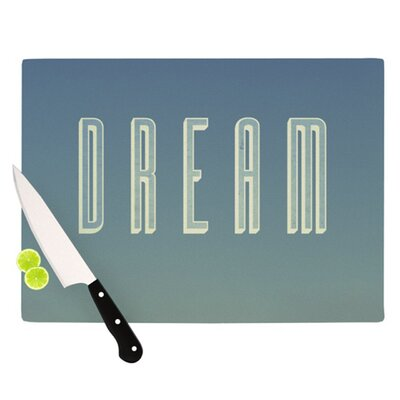 KESS InHouse Dream Print Cutting Board