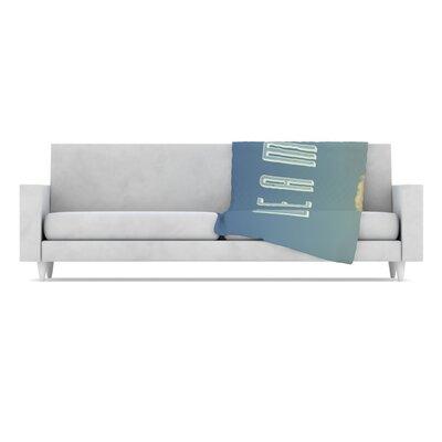 KESS InHouse  Dream Print Microfiber Fleece Throw Blanket