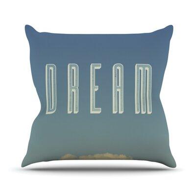 KESS InHouse Dream Print Throw Pillow
