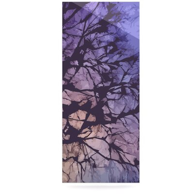 KESS InHouse Violet Skies Floating Art Panel