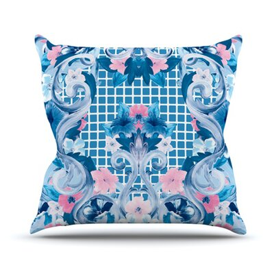 KESS InHouse Ornate Throw Pillow
