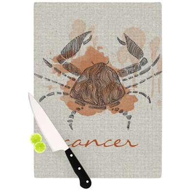 KESS InHouse Cancer Cutting Board