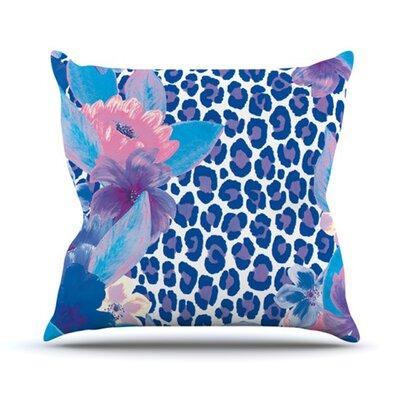 KESS InHouse Leopard Throw Pillow