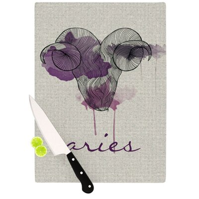 KESS InHouse Aries Cutting Board