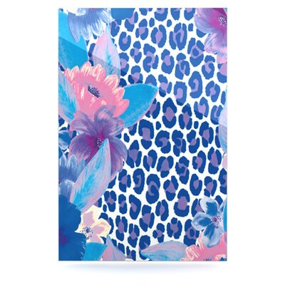 KESS InHouse Leopard by Aimee St Hill Painting Print Plaque