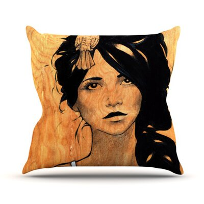 KESS InHouse Bra Throw Pillow