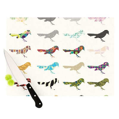 KESS InHouse Birds Cutting Board