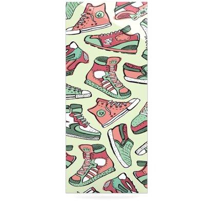 KESS InHouse Sneaker Lover II by Brienne Jepkema Graphic Art Plaque