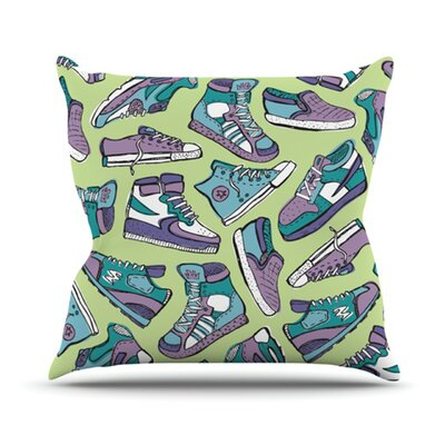 KESS InHouse Sneaker Lover IV Throw Pillow