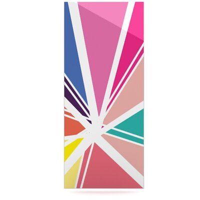 KESS InHouse Boldly Bright by Belinda Gillies Graphic Art Plaque