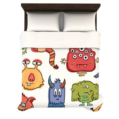 KESS InHouse Little Monsters Duvet