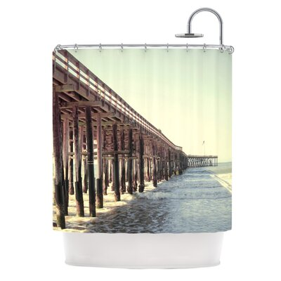 KESS InHouse Ventura Polyester Shower Curtain