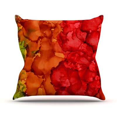 KESS InHouse Fall Splatter Throw Pillow