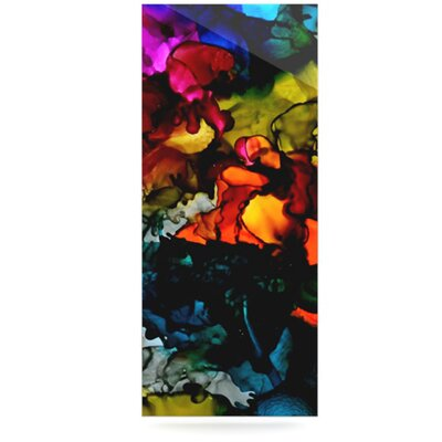 KESS InHouse Hippie Love Child Floating Art Panel