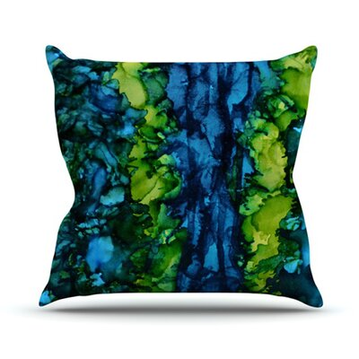 KESS InHouse Drop Throw Pillow