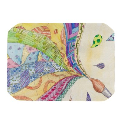 KESS InHouse The Painted Quilt Placemat