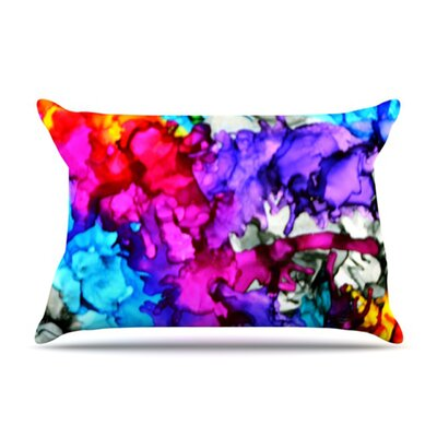 KESS InHouse Indie Chic Microfiber Fleece Pillow Case