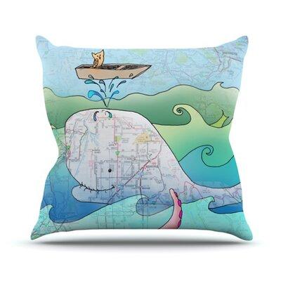 KESS InHouse I'm on a Boat Throw Pillow