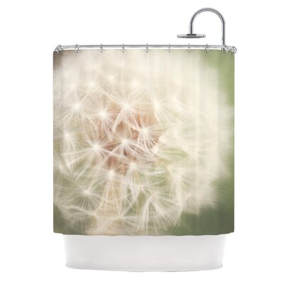 KESS InHouse Dandelion Polyester Shower Curtain
