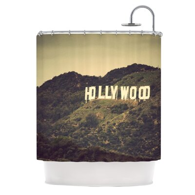 KESS InHouse Hollywood Polyester Shower Curtain