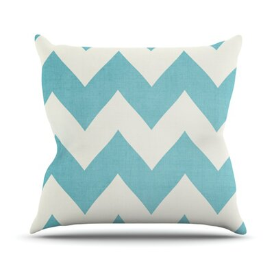 KESS InHouse Salt Water Cure Throw Pillow