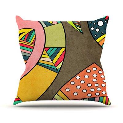 KESS InHouse Cosmic Aztec Throw Pillow