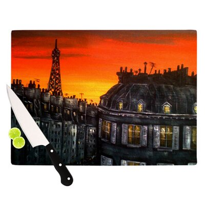 KESS InHouse Paris Cutting Board