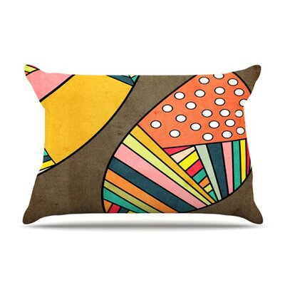 KESS InHouse Cosmic Aztec Microfiber Fleece Pillow Case