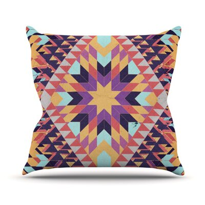 KESS InHouse Ticky Ticky Throw Pillow