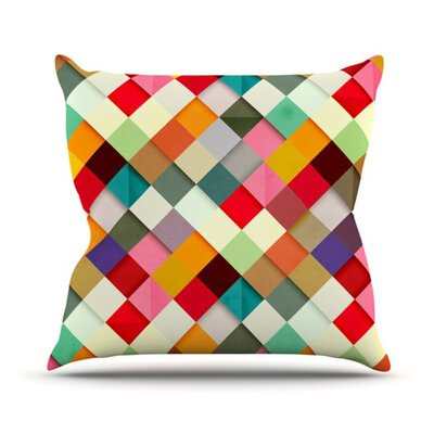 KESS InHouse Pass This On Throw Pillow