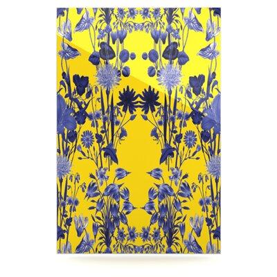 KESS InHouse Bloom Flower by Debora Chodik Graphic Art Plaque