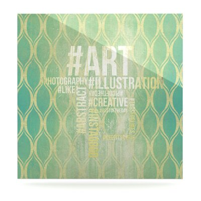 KESS InHouse Hashtag Wall Art