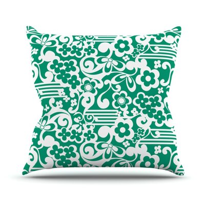 KESS InHouse Esmerald Throw Pillow