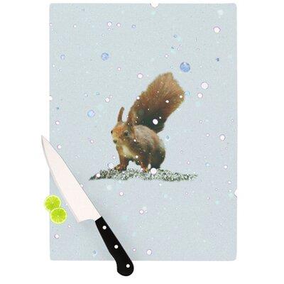 KESS InHouse Squirrel Cutting Board