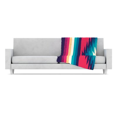 KESS InHouse Surf Fleece Throw Blanket