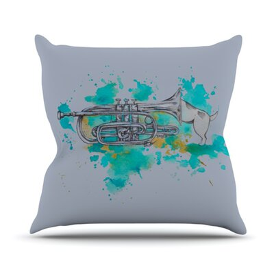 KESS InHouse Hunting for Jazz Throw Pillow