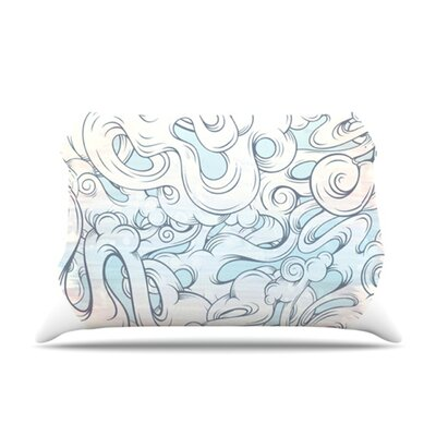 KESS InHouse Entangled Souls Fleece Pillow Case