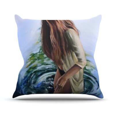 KESS InHouse Knee Deep Throw Pillow