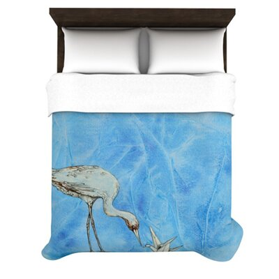 Crane Polyester Shower Curtain