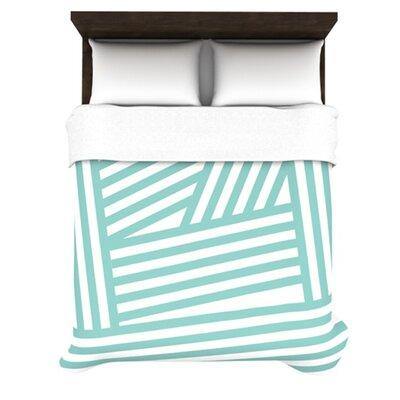 KESS InHouse Stripes Duvet Cover