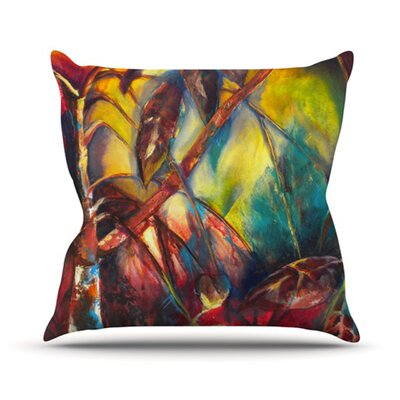 KESS InHouse Growth Throw Pillow
