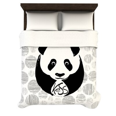 KESS InHouse Panda Duvet Collection