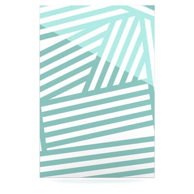 KESS InHouse Stripes Floating Art Panel